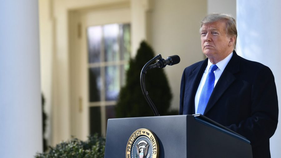 Trump Says Lawsuit Filed After National Emergency Declaration Comes From 'Open Border Democrats'