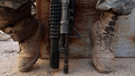 High School Employs Military Vets With Semi-Automatic Rifles to Protect Students