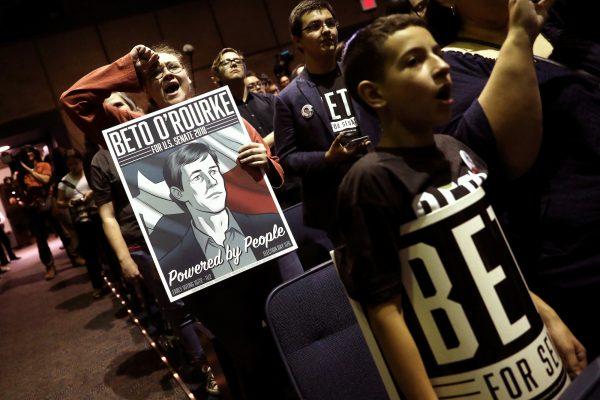 Beto O'rourke in El Paso, Texas