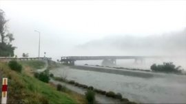 Video: New Zealand Bridge Washed Away in Severe Storm