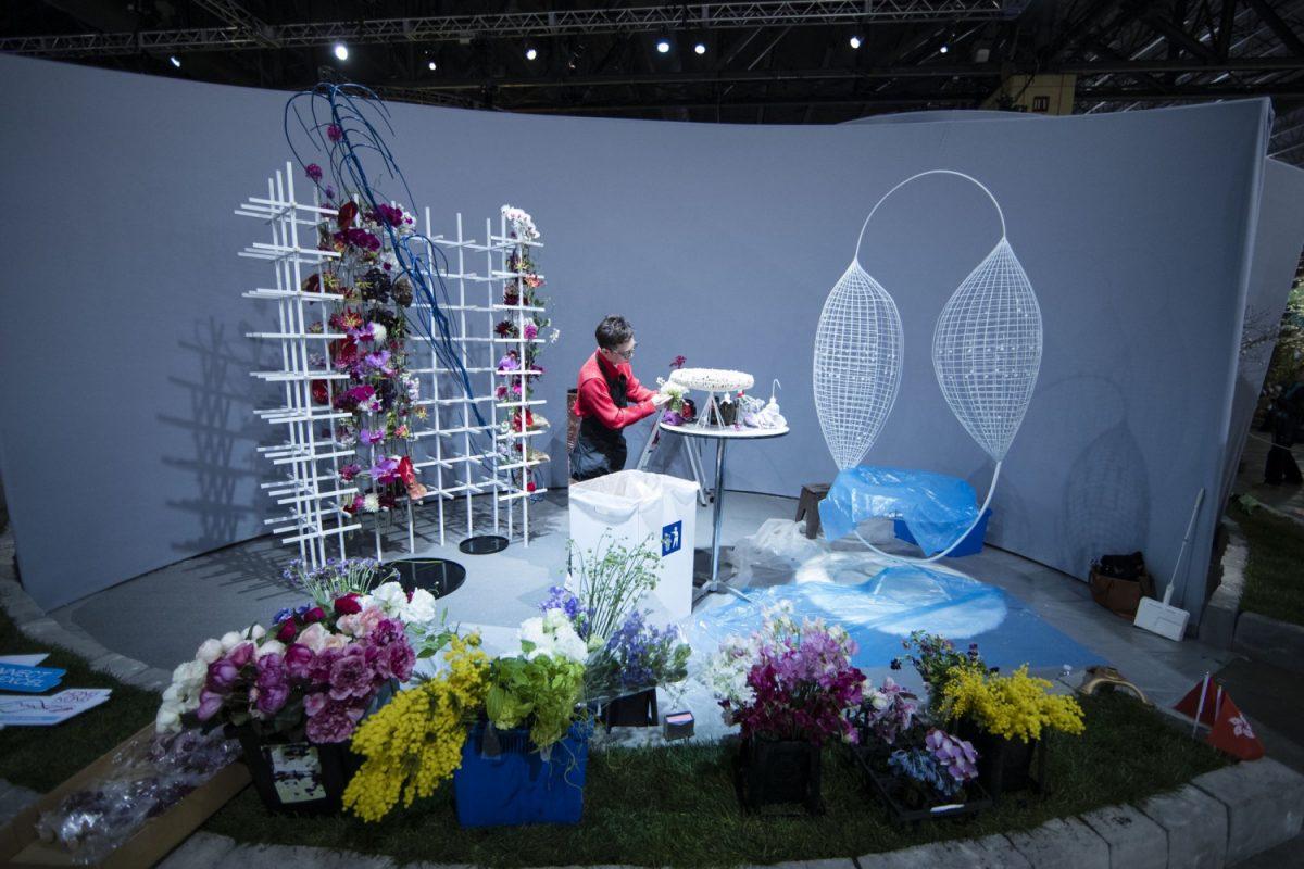 Florist Solomon Leong of Hong Kong