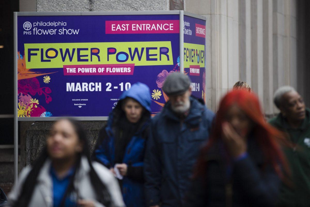 """""""Flower Power"""" themed Philadelphia Flower Show"""