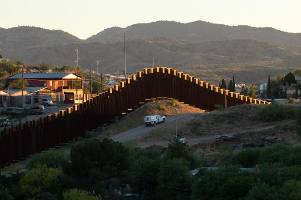 U.S.-Mexico border in Nogales Arizona