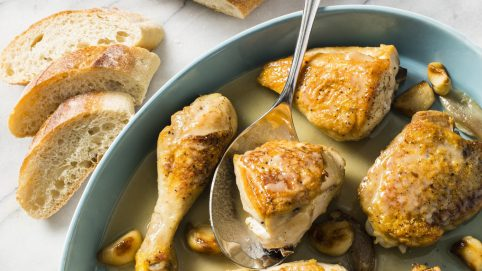 A Full-Flavored Chicken Dish With Sweet and Nutty Garlic