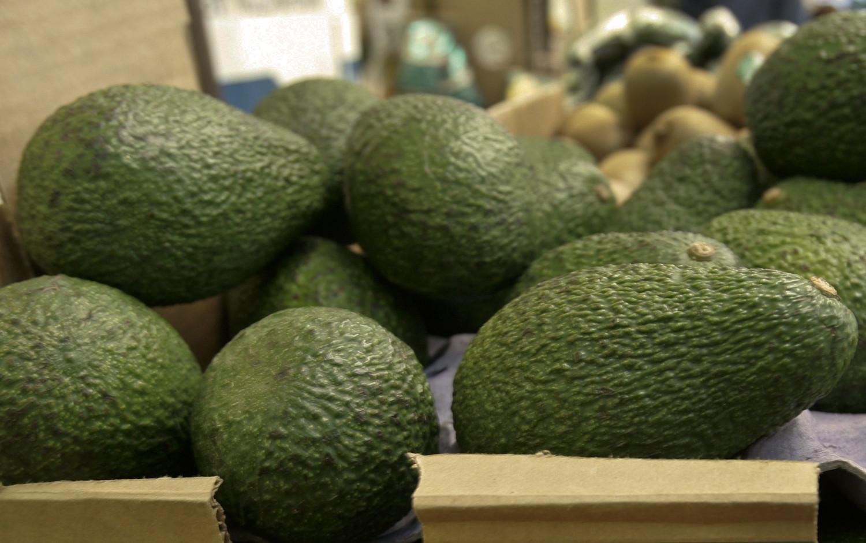 California-grown avocados