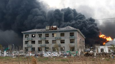 China Chemical Plant Blast Kills 62, Injures 640