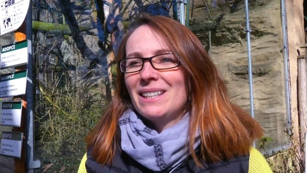 Decin Zoo spokeswoman Alena Houskova