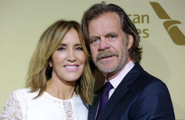 Felicity Huffman (L) and William H. Macy attend The Hollywood Reporter and SAG-AFTRA Inaugural Emmy Nominees Night