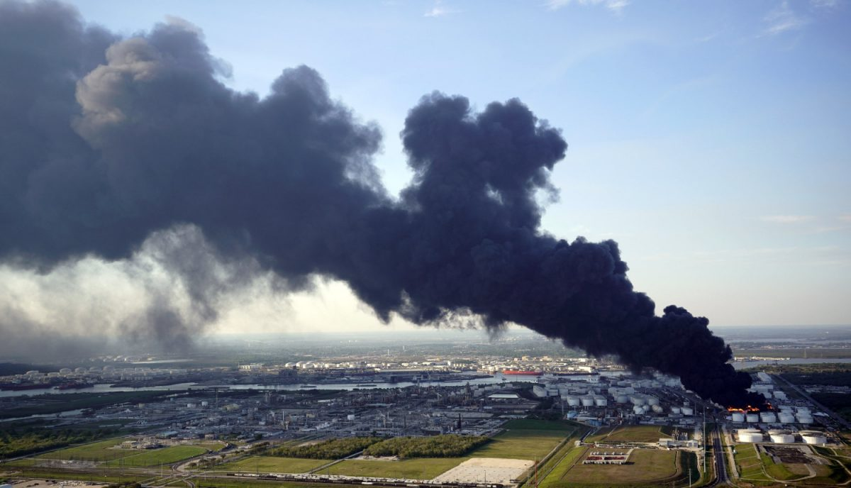 Fire at Texas storage 3
