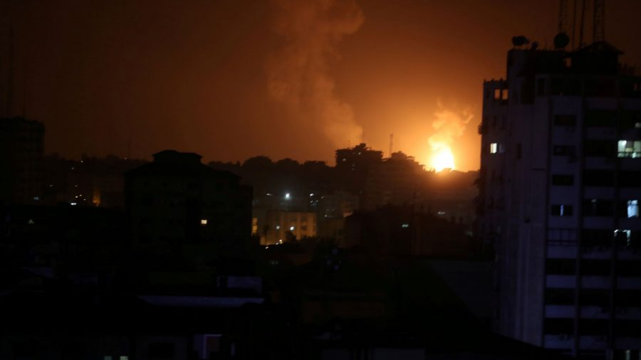 Israel Bombs Hamas Facilities in Gaza After Rockets Fired at Tel Aviv