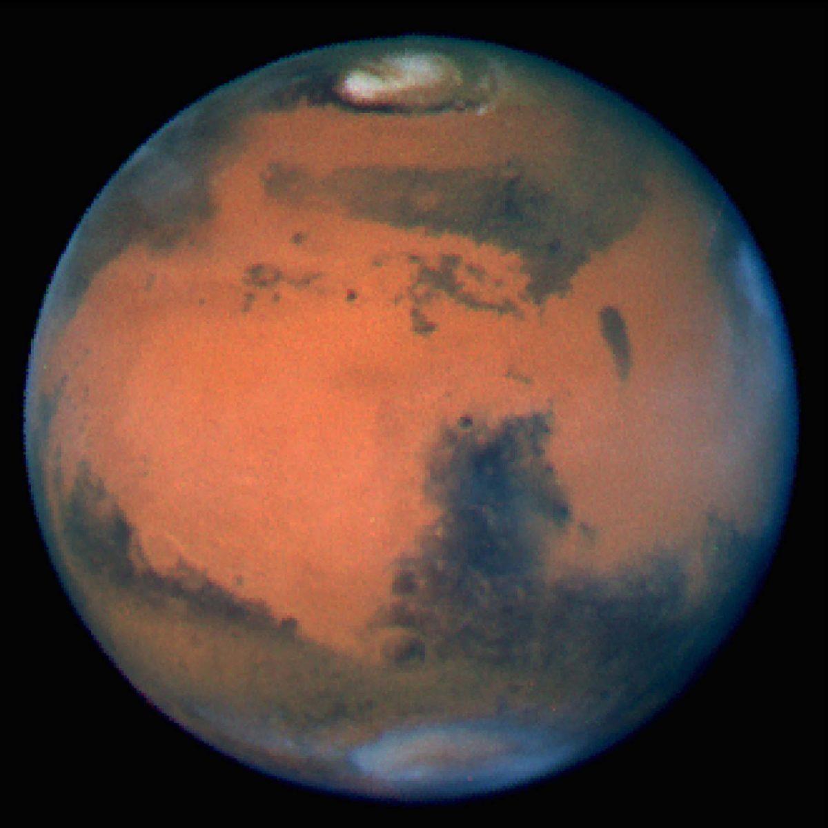 Water on Mars-underground lake network