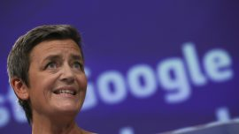 EU Fines Google $1.7 Billion for Abusing Online Ads Market