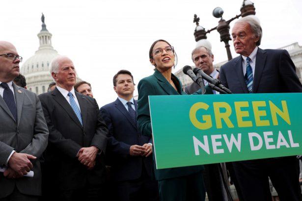 Alexandria Ocasio-Cortez introduces Green New Deall