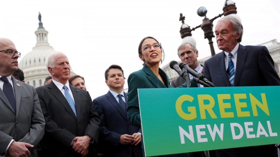 Ocasio-Cortez's Green New Deal Fails in Senate 0-57