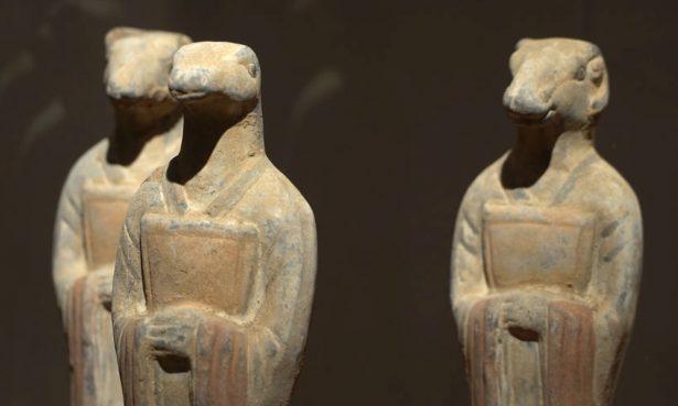 Guardians of Time Animal sculptures
