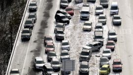 12 Hurt, 50 Cars Involved in Pileups on California Highway