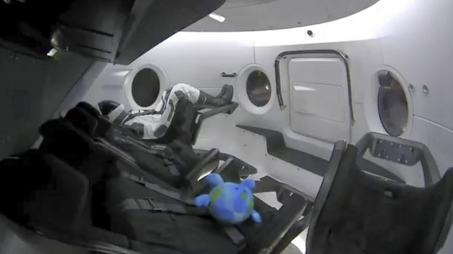 SpaceX Docked Its 'Crew Dragon' Capsule with the Space Station This Weekend