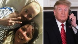 Video: Man's Dying Wish Fulfilled With Call From President Trump