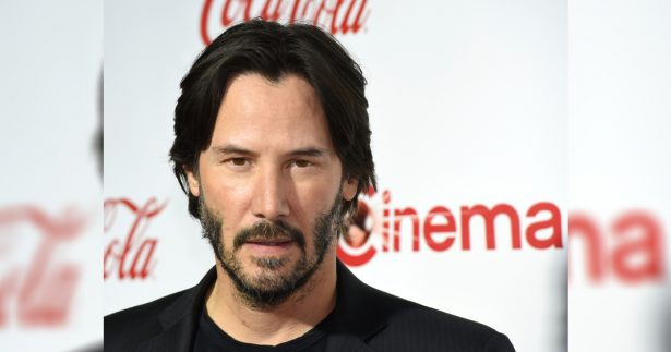 Actor Keanu Reeves, recipient of the Vanguard Award, attends the CinemaCon Big Screen Achievement Awards