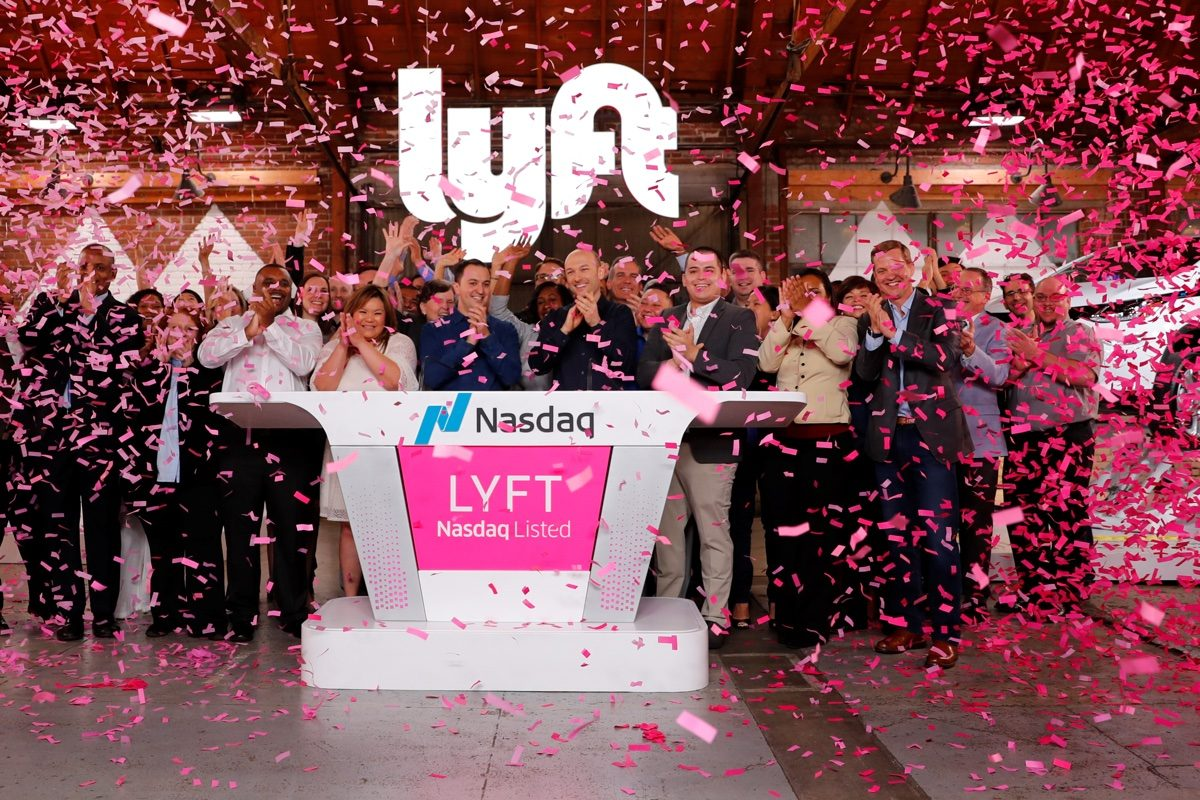 How to get in on lyft ipo