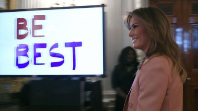 First Lady Looks for Ways Bureaucracy Can Advance 'Be Best'