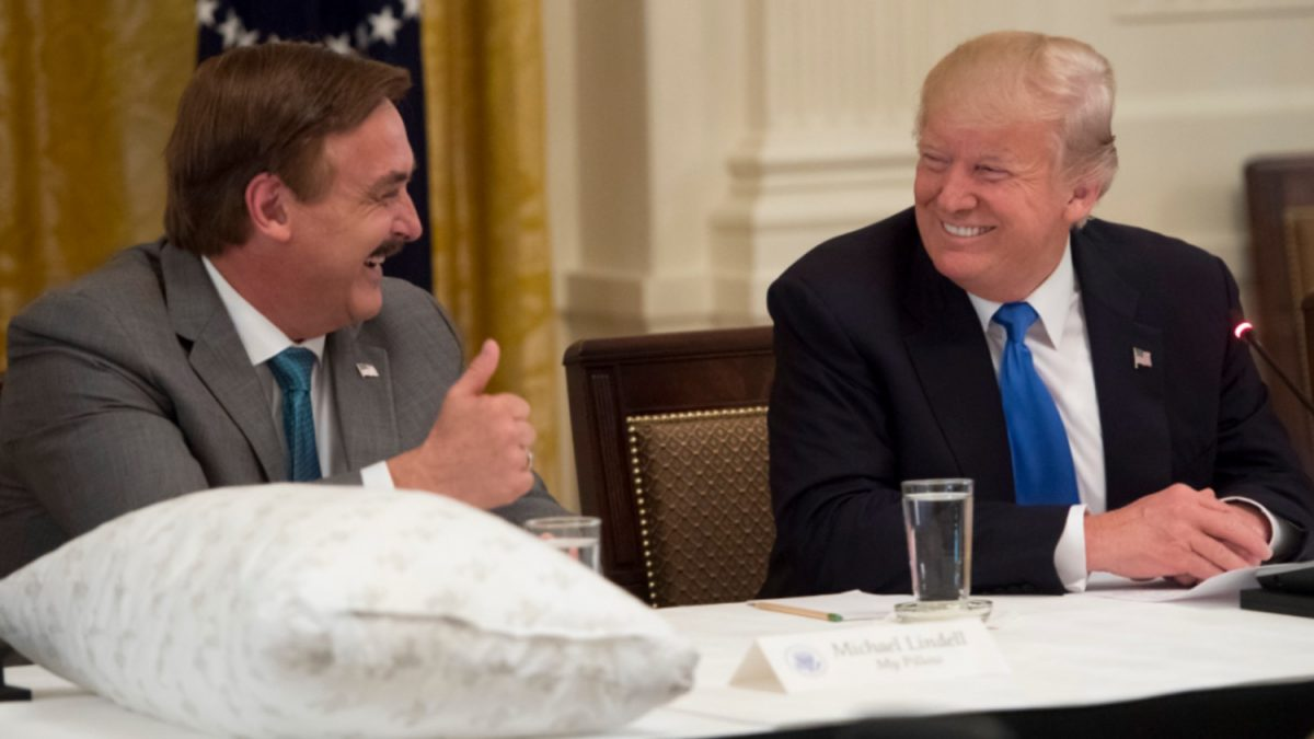 Trump Chosen By God To Run For White House Mypillow Inventor Mike Lindell