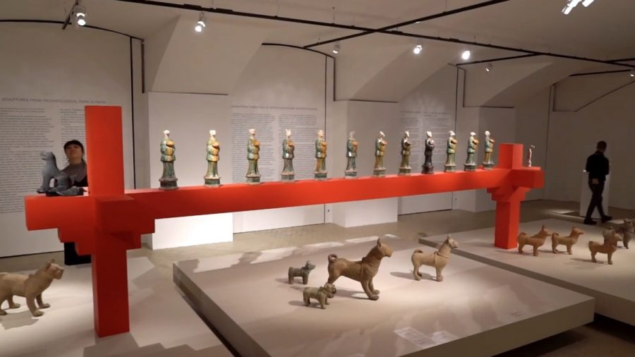 Ceramic Sculptures From Ancient China on Display in Moscow Museum