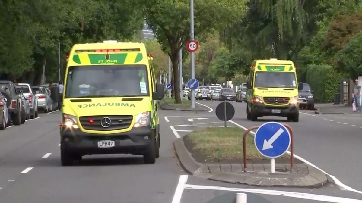 First responders after NZ mosque shooting
