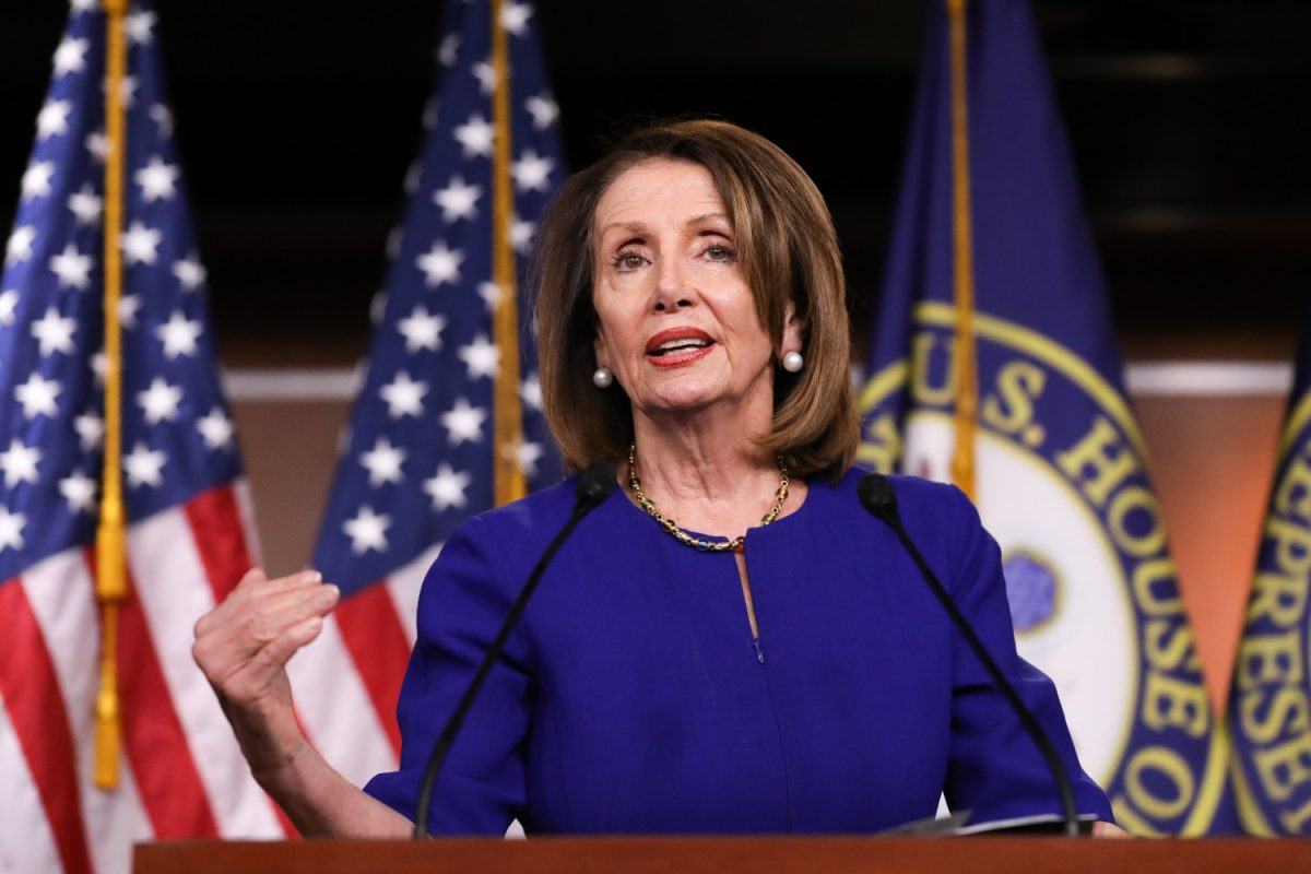 House Speaker Rep. Nancy Pelosi
