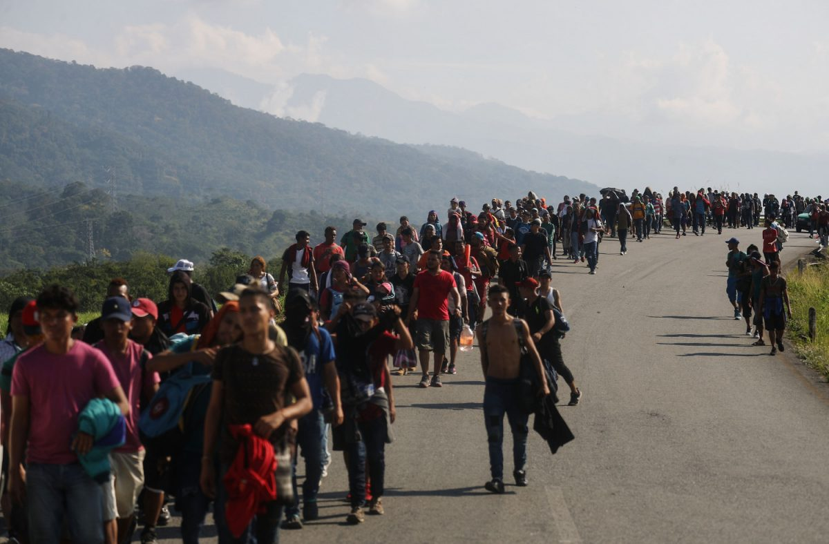 New Migrant Caravan Travels From Honduras To U.S