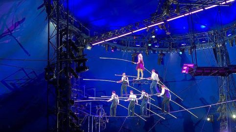 Video Shows Circus Performers Falling 30 Feet as Stunt Fails