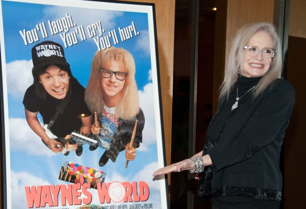 Director Penelope Spheeris attends Academy Of Motion Picture Arts And Sciences Hosts A 'Wayne's World' Reunion