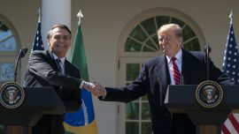 Trump and Bolsonaro Pledge 'Historic Remaking' of US-Brazil Relations