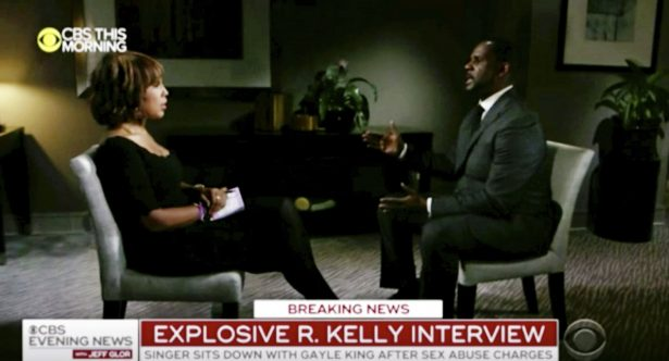 R Kelly interviewed by CBS