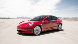 Video of Man 'Straight Snoozing Going 75 Mph' in Tesla Model 3 Goes Viral