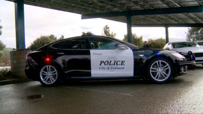 Fremont Police Tests All-Electric Vehicle for Patrol