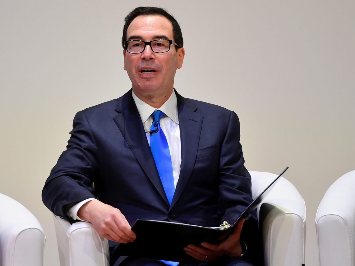 Treasury Steven Mnuchin