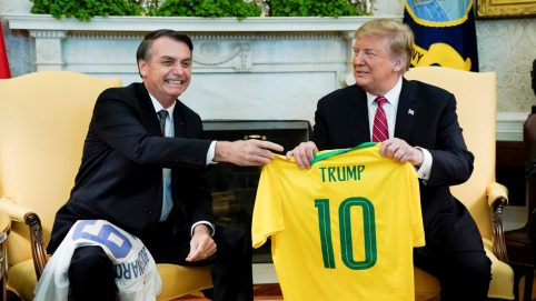 A Common Refrain in US and Brazil: 'We Don't Want Socialism Anymore'