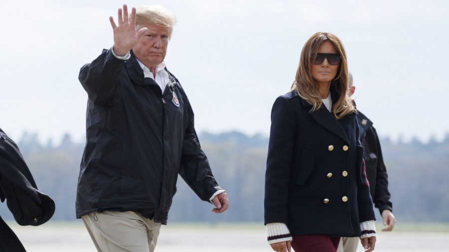 Trump responds to claims Melania has a body double
