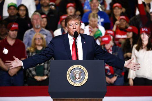 President Trump in El Paso, Texas