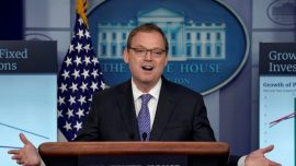 White House Economic Adviser Hassett Says Progress in China Trade Talks