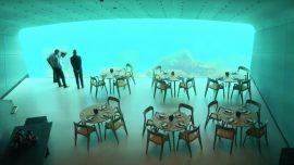Going 'Under': Europe's First Underwater Restaurant Opens in Norway