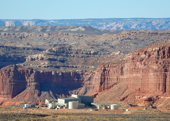 Anfield's Shootaring Canyon Uranium Mill sits
