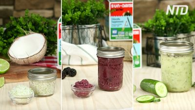 3 Easy Homemade Body & Face Scrubs for Smooth and Radiant Skin