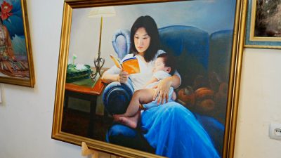 Zhen Shan Ren Art Exhibition on Display in Ukraine's Capital