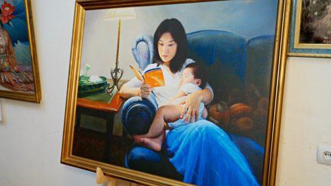 Zhen Shan Ren Art Exhibition on Display in Ukraine's Capital