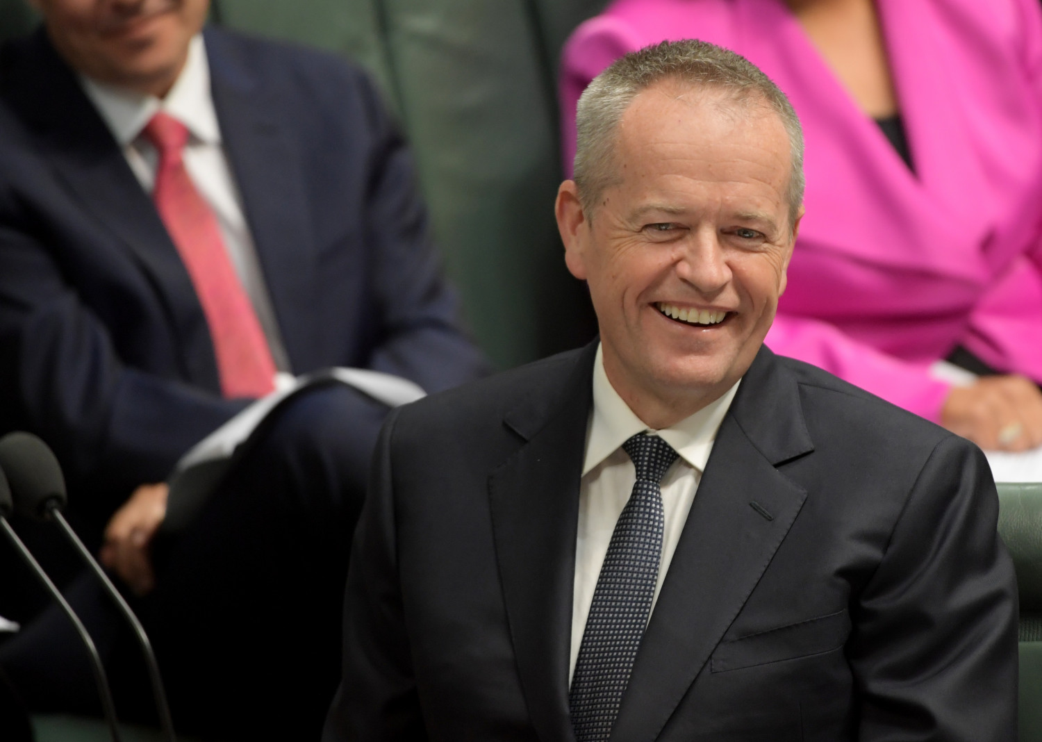 Opposition Leader Bill Shorten during Question Time