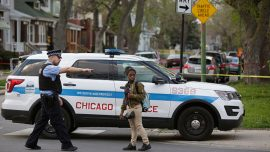 Woman Dies, 10 Officers Hurt When Vehicles Crash in Chicago