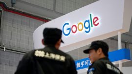Google's Work in China Benefiting China's Military, Top US General Says