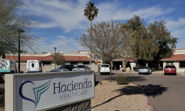 The Hacienda HealthCare facility in Phoenix, Ariz., on Jan. 25, 2019. (AP Photo/Matt York, file)